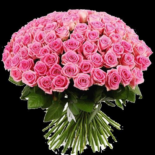 """Фото товара 101 роза """"Аква"""" в Мариуполе"""