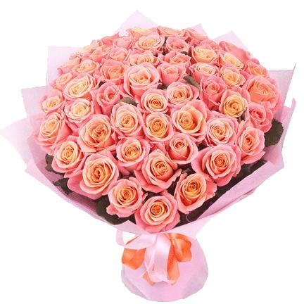 """Фото товара 101 роза """"Мисс Пигги"""" в Мариуполе"""