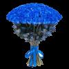 Фото товара 101 синяя роза (крашеная) в Мариуполе