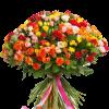 Фото товара 101 кустовая роза микс в Мариуполе