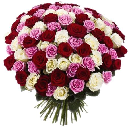 Фото товара 101 роза микс в Мариуполе