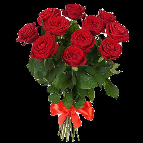 Фото товара 11 красных роз в Мариуполе