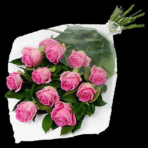 """Фото товара 11 розовых роз """"Аква"""" в Мариуполе"""