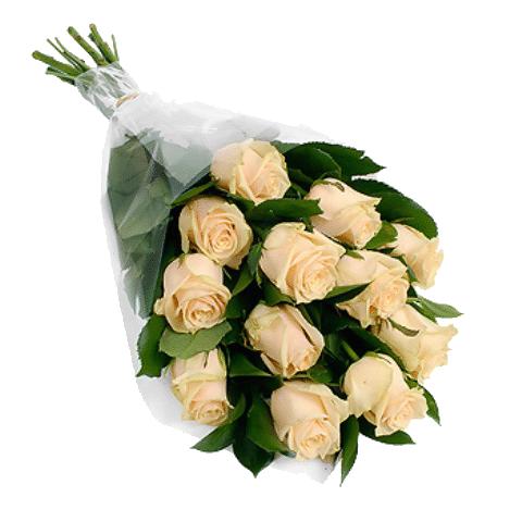 Фото товара 11 кремовых роз в Мариуполе