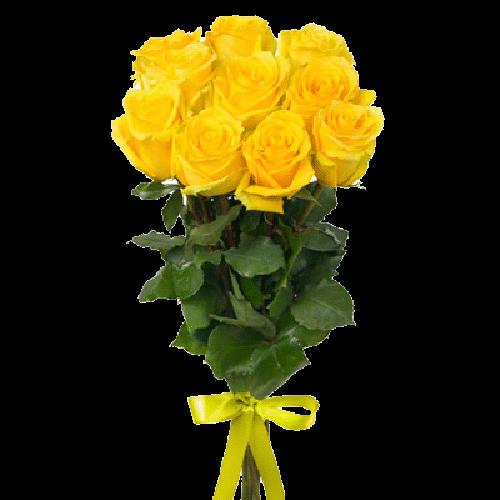 Фото товара 11 желтых роз в Мариуполе