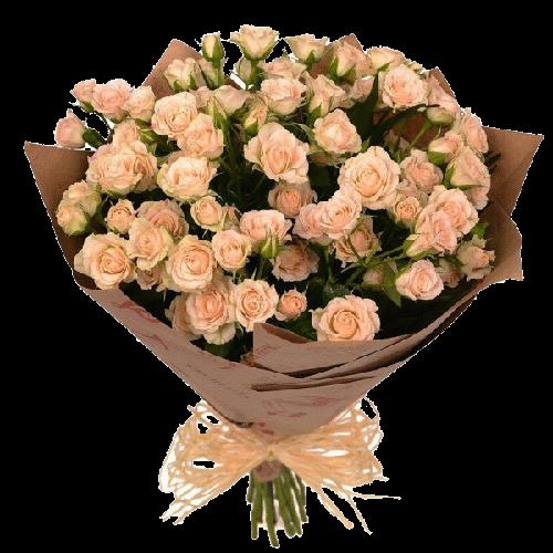 Фото товара 19 кустовых роз в Мариуполе