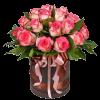 """Фото товара 19 роз """"Джумилия"""" в шляпной коробке в Мариуполе"""