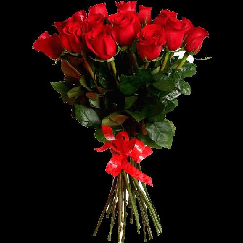 Фото товара 21 импортная красная роза в Мариуполе