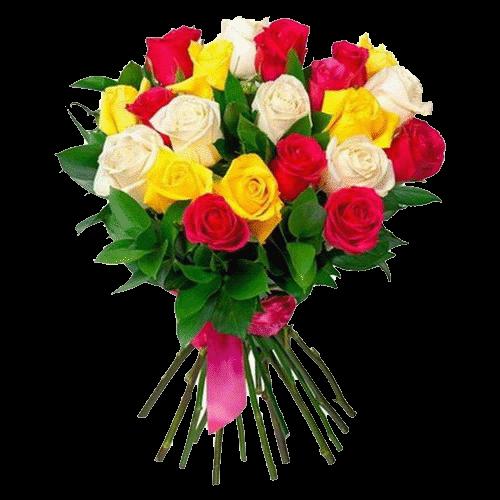 Фото товара 21 роза микс в Мариуполе