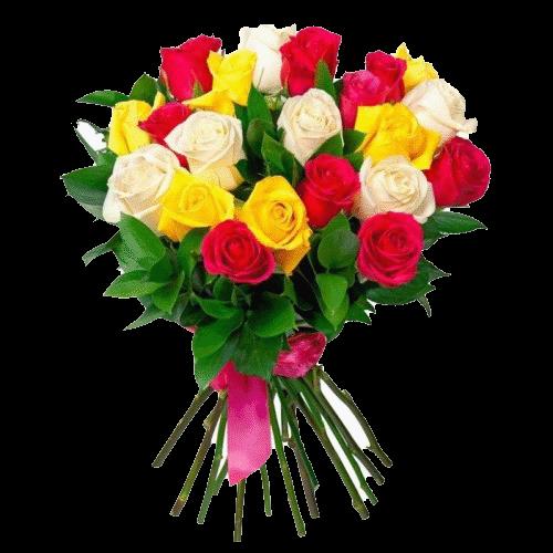 Фото товара 33 розы микс в Мариуполе