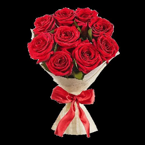Фото товара 9 красных роз в Мариуполе