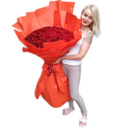 Фото товара 101 метровая роза в Мариуполе