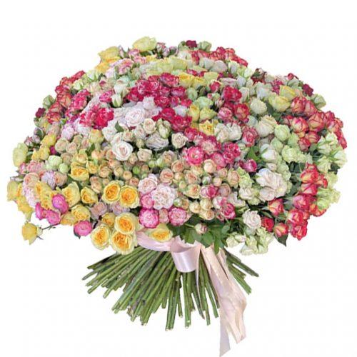 Фото товара 201 кустовая роза в Мариуполе